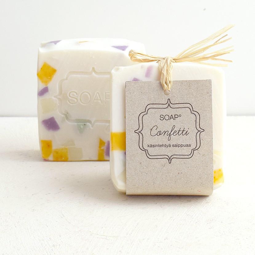 Soap Confetti saippua